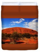 Uluru Central Australia Duvet Cover