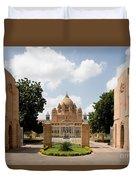 Umaid Bhawan Palace, India Duvet Cover