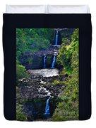 Umauma Falls I Duvet Cover