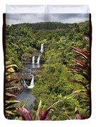 Umauma Falls Duvet Cover