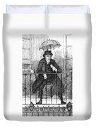 Umbrella, 19th Century Duvet Cover