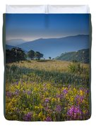 Umbria Wildflowers Duvet Cover
