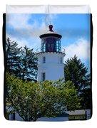 Umpqua River Lighthouse Duvet Cover