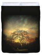 Un Dernier Crepuscule Duvet Cover by Taylan Apukovska
