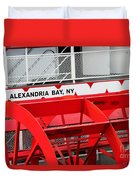 Uncle Sam Bout Tour Alexandria Bay Duvet Cover