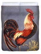Uncle Sam The Rooster Duvet Cover