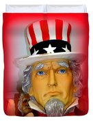 Uncle Sam Wants You Duvet Cover