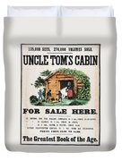 Uncle Tom's Cabin, C1860 Duvet Cover