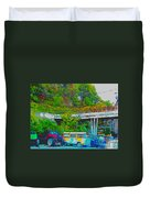 Uncle Tom's Toybox Duvet Cover