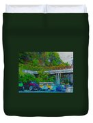 Uncle Tom's Toybox Painted 2 Duvet Cover