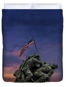 Uncommon Valor Was A Common Virtue Duvet Cover
