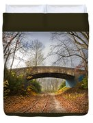 Under And Over  Duvet Cover by Debra and Dave Vanderlaan