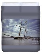Under Cloudy Skies Duvet Cover