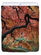 Under Fall's Cover Duvet Cover