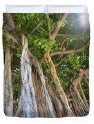 Under The Banyan Tree Duvet Cover
