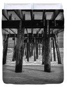 Under The Boardwalk Duvet Cover
