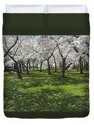 Under The Cherry Blossoms - Washington Dc. Duvet Cover