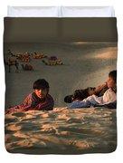 Under The Desert Sky.. Duvet Cover