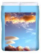 Under The Desert Sky Palm Springs Duvet Cover