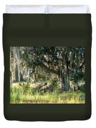 Under The Live Oak Tree Duvet Cover