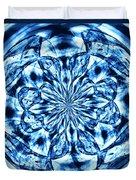 Under The Microscope Duvet Cover