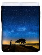 Under The Milky Way II Duvet Cover