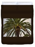 Under The Palm II Duvet Cover