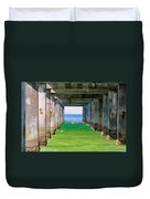 Under The Pier Duvet Cover