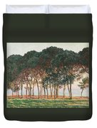 Under The Pines. Evening Duvet Cover