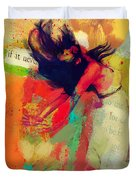 Under The Sun Duvet Cover by Corporate Art Task Force