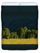 Under The Trees Duvet Cover