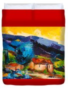 Under The Tuscan Sky Duvet Cover by Elise Palmigiani