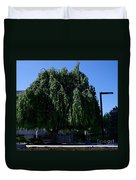 Under The Weeping Tree Duvet Cover