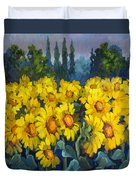 Under Tuscan Sun Duvet Cover