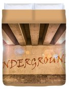 Underground Duvet Cover