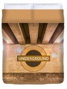 Underground Underground Duvet Cover