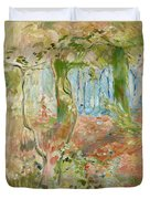 Undergrowth In Autumn Duvet Cover