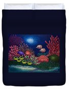 Undersea Creatures Vi Duvet Cover
