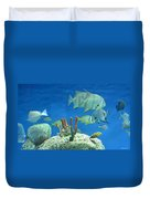 Underwater Beauty Duvet Cover