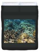 Underwater Color Duvet Cover