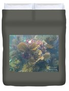 Underwater Colors Duvet Cover by Adam Jewell