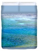 Underwater Colors Duvet Cover