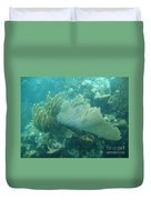 Underwater Forest Duvet Cover by Adam Jewell
