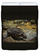 Underwater Turtle Duvet Cover