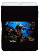 Underwater View Duvet Cover