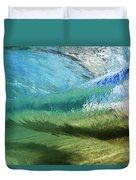 Underwater Wave Curl Duvet Cover by Vince Cavataio - Printscapes