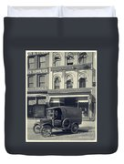 Underwood Typewriter Factory Duvet Cover by Edward Fielding