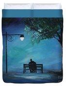 Unforgettable Evening Duvet Cover