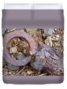 Unhitched Duvet Cover by Mary Deal