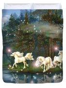 Unicorn Wizard Pool Duvet Cover